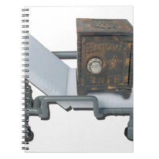 VintageSafeOnGurney092715 Spiral Note Book