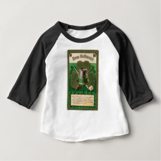 VintageSaint Patrick's day shamrock erin go bragh Baby T-Shirt