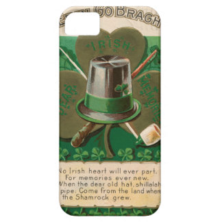 VintageSaint Patrick's day shamrock erin go bragh Case For The iPhone 5