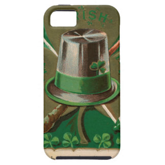 VintageSaint Patrick's day shamrock erin go bragh iPhone 5 Cases