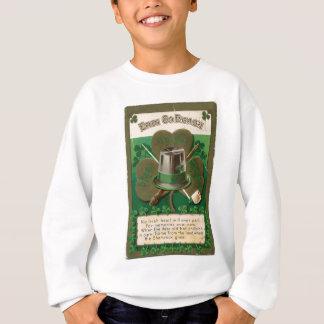 VintageSaint Patrick's day shamrock erin go bragh Sweatshirt