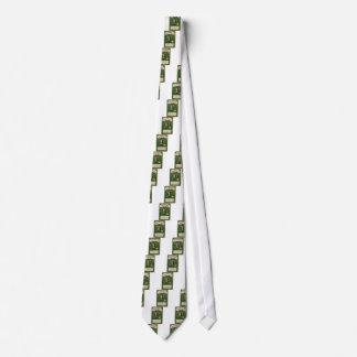 VintageSaint Patrick's day shamrock erin go bragh Tie