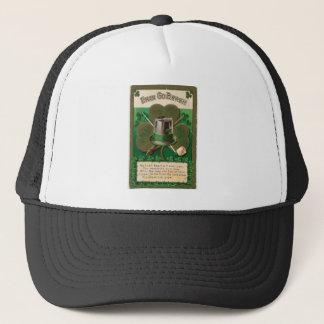 VintageSaint Patrick's day shamrock erin go bragh Trucker Hat