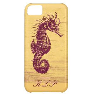 vintgage seahorse iphone 5C case