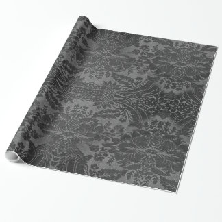 Vinya Goth Vintage Baroque Wrapping Paper