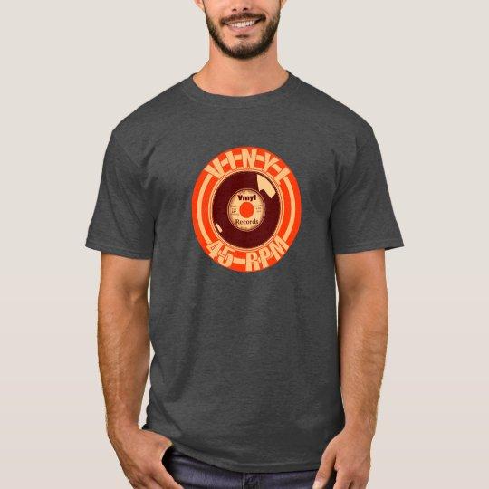 Vinyl- 45 Orange T-Shirt