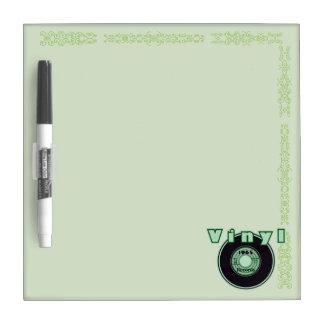 Vinyl 45 Record 1965, Green 2 Dry Erase Whiteboard