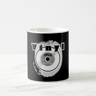 VINYL 45 RPM Record 1973 Classic White Coffee Mug