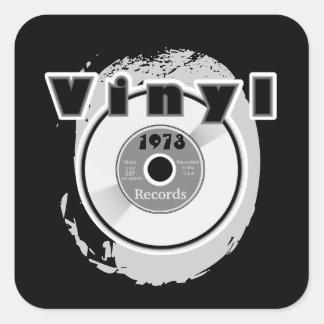 VINYL 45 RPM Record 1973 Square Sticker
