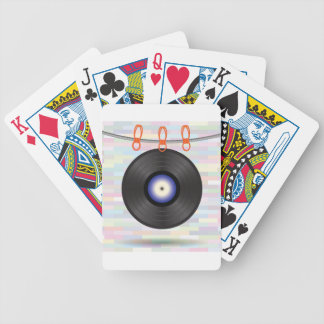 vinyl bicycle playing cards