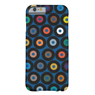 VINYL blue Barely There iPhone 6 Case