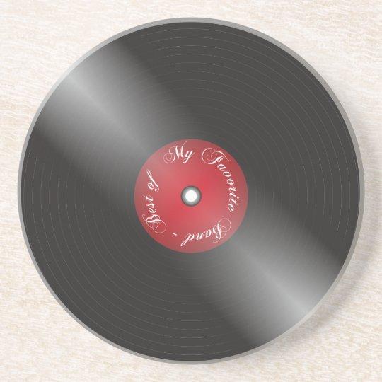 Vinyl Coaster