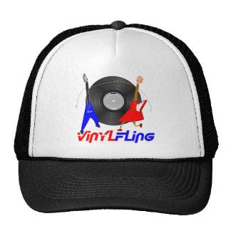 Vinyl Fling Mesh Hats