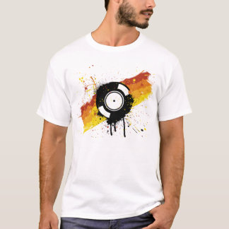 Vinyl Graffiti T-Shirt