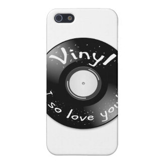 VINYL - I so love you! Case For iPhone 5/5S