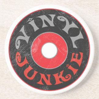 Vinyl Junkie Coaster