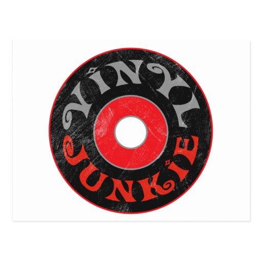 Vinyl Junkie Postcards