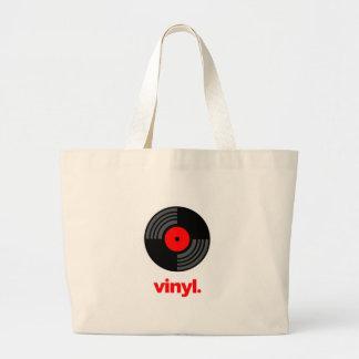 Vinyl Large Tote Bag