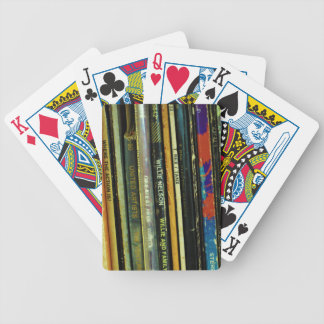 Vinyl Life 1 Bicycle Playing Cards