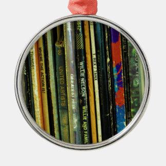 Vinyl Life 1 Metal Ornament