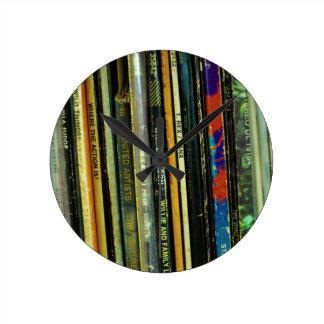Vinyl Life 1 Round Clock