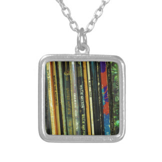 Vinyl Life 1 Silver Plated Necklace
