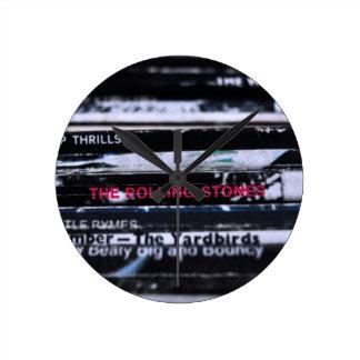 Vinyl Life 3 Round Clock