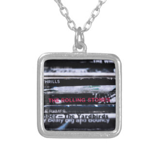 Vinyl Life 3 Silver Plated Necklace