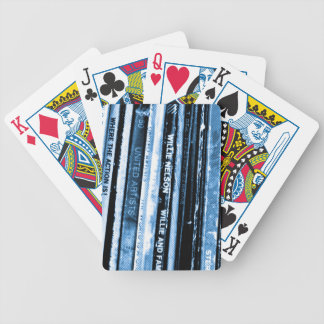 Vinyl Life Bicycle Playing Cards