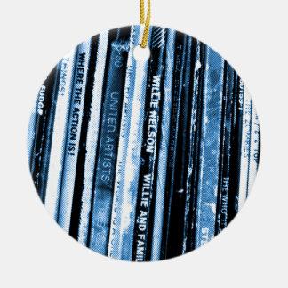 Vinyl Life Ceramic Ornament