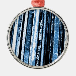 Vinyl Life Metal Ornament