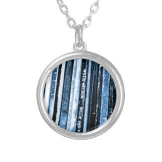 Vinyl Life Silver Plated Necklace
