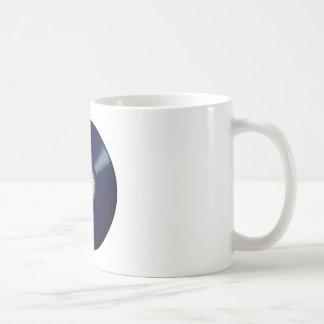 Vinyl Long Player With Keyboard Icon Coffee Mug