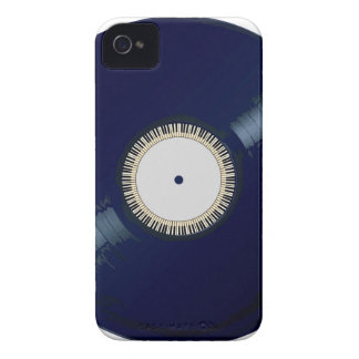 Vinyl Long Player With Keyboard Icon iPhone 4 Case-Mate Case