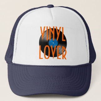 VINYL LOVER TRUCKER HAT