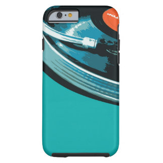 Vinyl Music Turntable Tough iPhone 6 Case