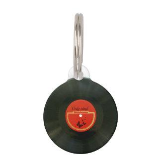 Vinyl Pet Name Tag