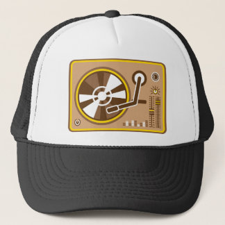 Vinyl Player vector Trucker Hat