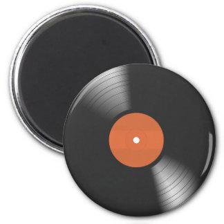 Vinyl Record 2 Inch Round Magnet