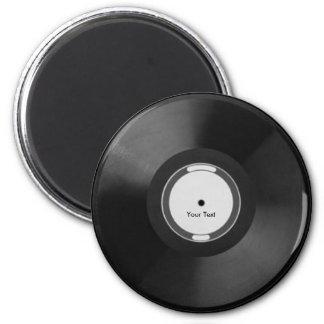 Vinyl.Record 2 Inch Round Magnet