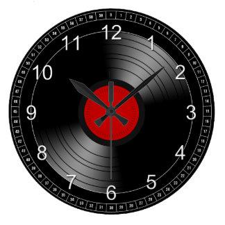 Vinyl Record 2 Wallclocks