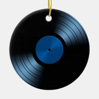 Vinyl Record Album - Very Retro Ceramic Ornament