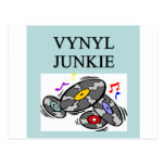 VINYL record collector Post Cards