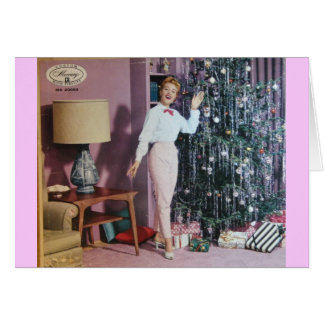 Vinyl Record Cover Christmas card