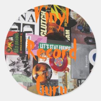 Vinyl Record Guru Stickers