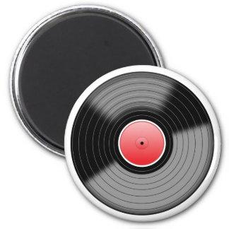 Vinyl Record L.P. Retro Magnet