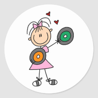 Vinyl Record Lover Sticker