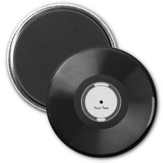 Vinyl Record Refrigerator Magnets