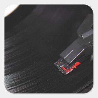 Vinyl Record Stickers