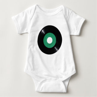 Vinyl record transparent PNG Baby Bodysuit